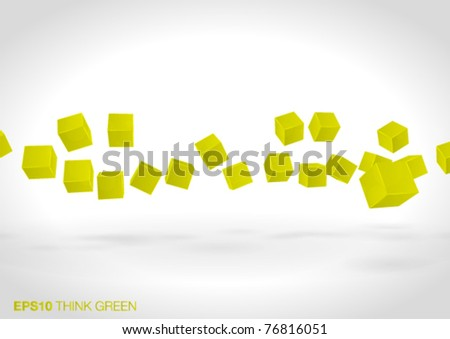 abstract 3d design - vector illustration