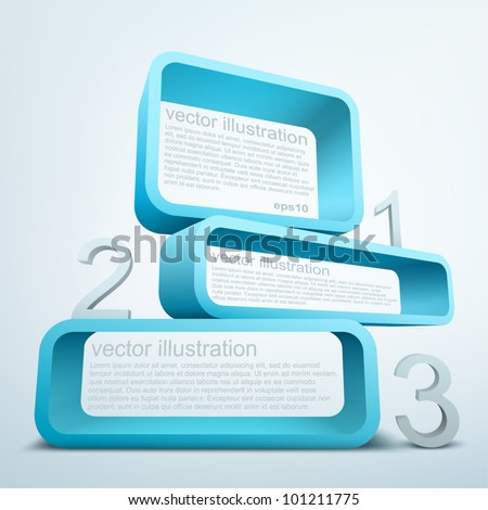 Abstract 3d frames