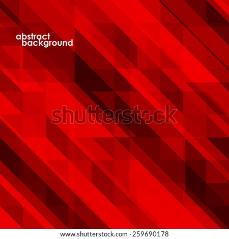 Abstract 3D geometric colorful background from triangles. Vector illustration. Eps 10