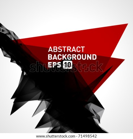 Abstract 3d geometric lines modern grunge vector background. Eps 10.