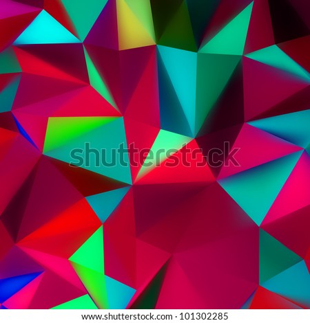 Abstract 3d geometric lines modern grunge vector background. EPS 8 vector file included