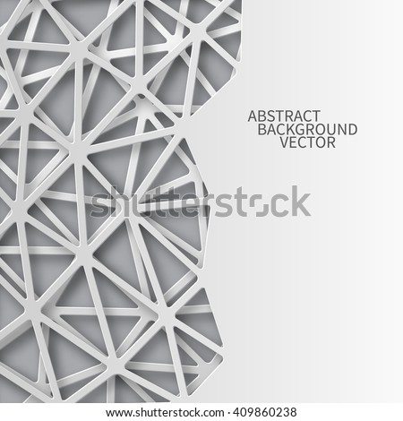 abstract 3d paper background