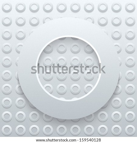 Abstract 3D Seamless Geometric Pattern