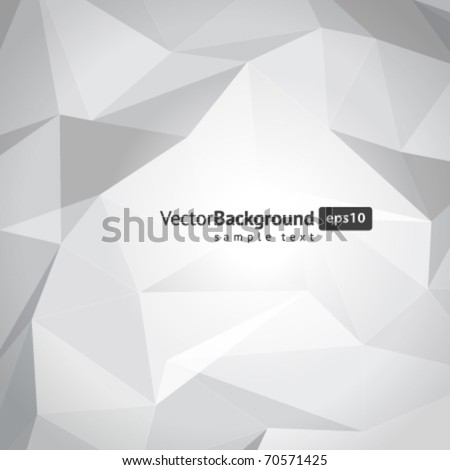 Abstract 3d wire vector background. Eps 10.