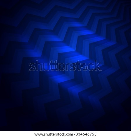 abstract dark blue crooked