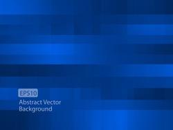 Abstract dark blue random pixel background