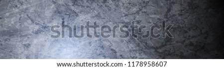 Abstract dark grunge wall texture web header. Vector graphic banner background