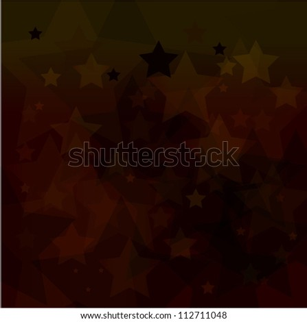abstract dark red star bokeh background