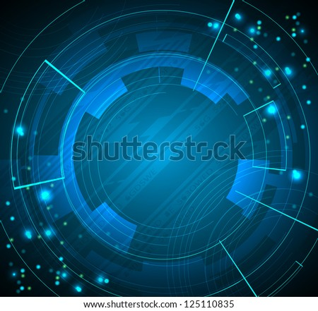 abstract dark technology business background