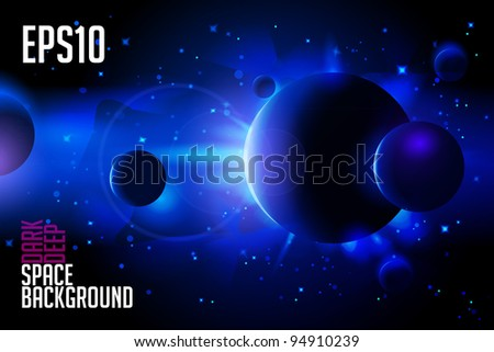 abstract deep space background