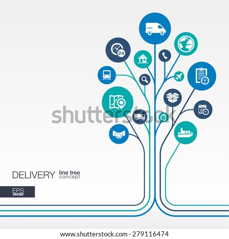 abstract delivery background  ...