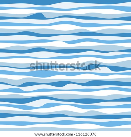 Abstract design creativity background of colorful waves, vector illustration - stock vector