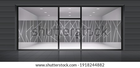 Abstract design for glass and wall graphics. Glass graphics design for Office, Train station, Supermarket, Store, Shop, Mall, Boutique, Home glass partition. Foto stock ©
