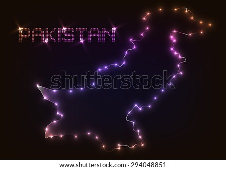 abstract design light pakistan