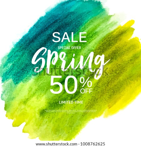 abstract design spring sale
