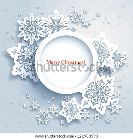 stock-vector-abstract-design-with-snowflakes-and-space-for-text