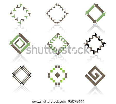 Business Card Icons Vector Icon Symbol Business Card
