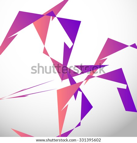 abstract digital art edgy