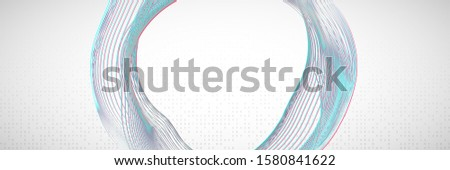 Abstract digital background. Artificial intelligence, deep learning and big data concept. Quantum technology. Tech visual for wireless template. Modern abstract digital background.