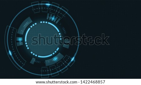 Abstract Digital background.Business growth transformation to digital and Successful financial technology.