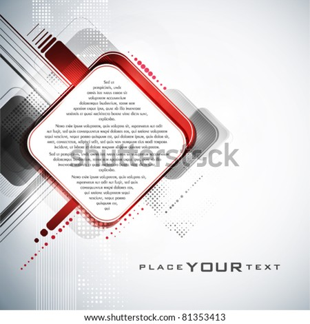 Abstract digital background. Vector