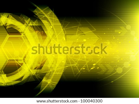 abstract digital technology movement background, vector illustration