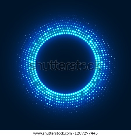 abstract disco background with