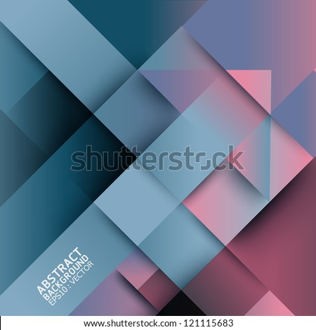 Abstract distortion from arrow shape background - seamless  / can be used for  graphic or website layout vector - stock vector