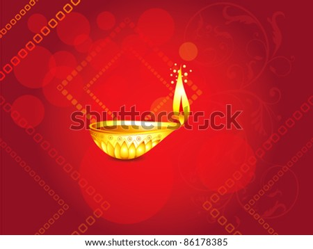 abstract diwali background