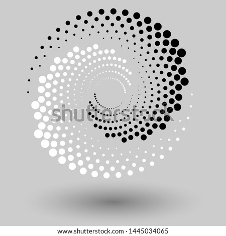 abstract dotted vector