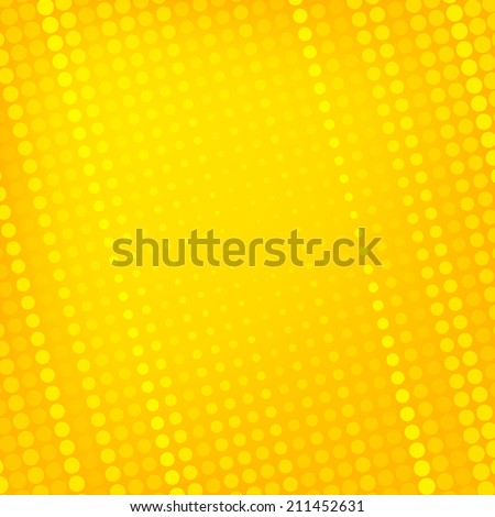 abstract dotted yellow