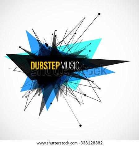 abstract dubstep explosion
