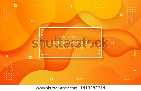 abstract dynamic fluid overlap