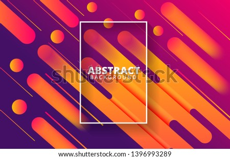 Abstract dynamic shapes background. Dynamic gradient shapes composition. Background template for banner, web, landing page, cover, promotion, print, poster, greeting card.