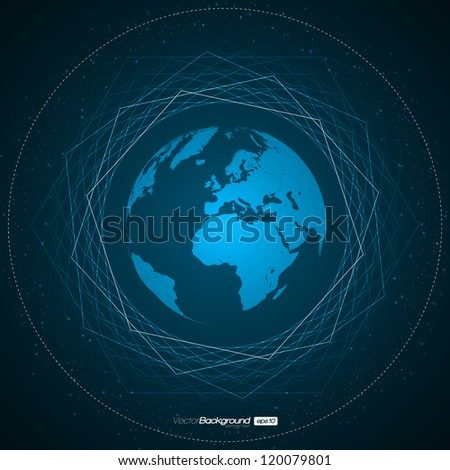 Abstract Earth Background | EPS10 Vector Design