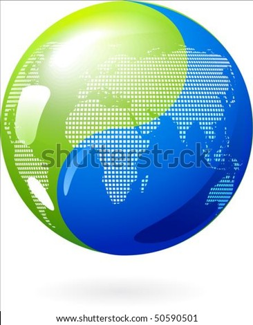 abstract earth background with