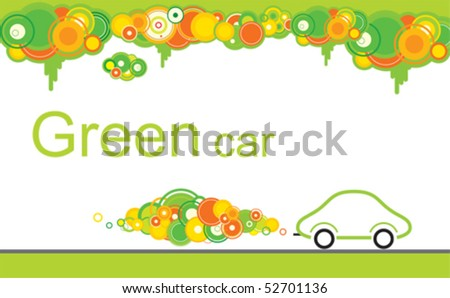 Abstract ecological car