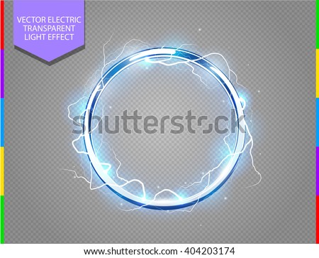abstract electric ring science