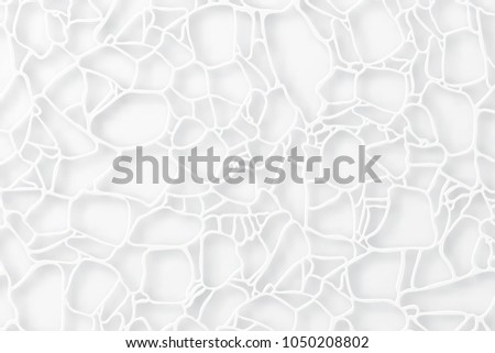 Abstract elegant cell texture. Paper cut cobweb, 3d tile surface. Elegant futuristic ornament with shadows and layers