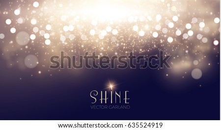 abstract elegant shining