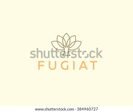 abstract elegant tree flower