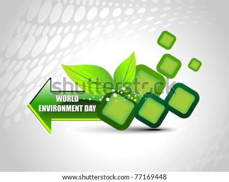 abstract element background for world environment day