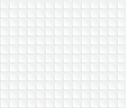 Abstract. Embossed paper square white Background, light and shadow. Vector. Pattern texture repeating seamless monochrome halftone. Stripes on White background. Black and White. buttons, keyboard. art