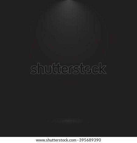 Abstract Empty dark black gradient luxury background Studio wall,floor and room backdrop - well use as background. Vector Illustration.
