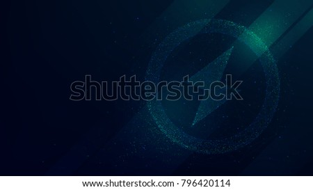 abstract energy power sign