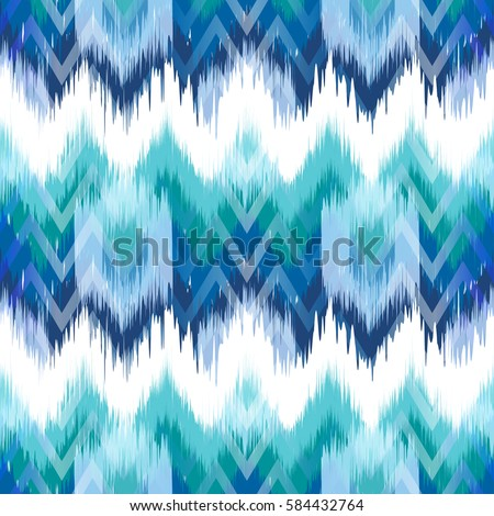 abstract ethnic ikat pattern
