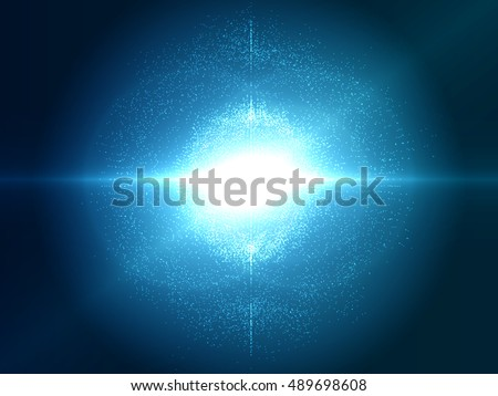 abstract explosion vector