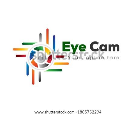 abstract eye cam spy modern