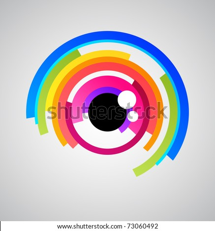 abstract eye icon
