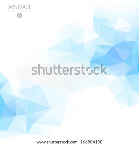 abstract fancy diamond shaped